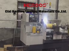 Automatic graphite cutting machine.mp4
